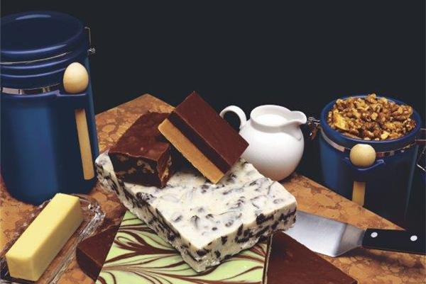 Homemade Vanilla Fudge
